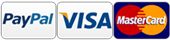 PayPal, Cradit Cards VISA, Materscard